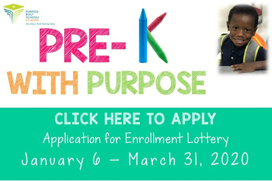 Pre K Registration NOW OPEN!